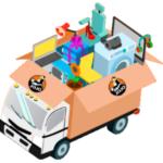 Réserver un moyen transport d'objets lourds