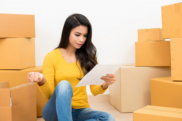 fiche de dépense pour le déménagement