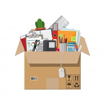 illustration démarches administratives pour déménager