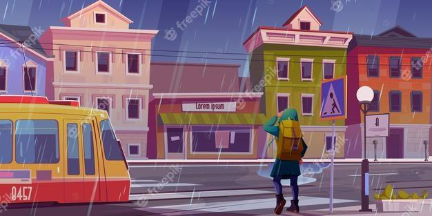Déménager en temps de pluie